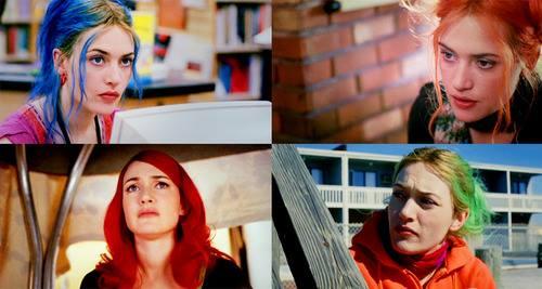 DICA: Preste atenção no cabelo da Clementine. Ele não só delimita a personalidade dela como o tempo do filme.